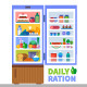 Daily Ration - GraphicRiver Item for Sale