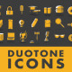 3D Duotone Icons and Elements - VideoHive Item for Sale