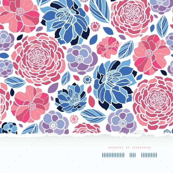 GraphicRiver Summer Flowers Pattern 10590879
