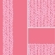 Pink Set of Three Knit Textile Seamless Patterns - GraphicRiver Item for Sale