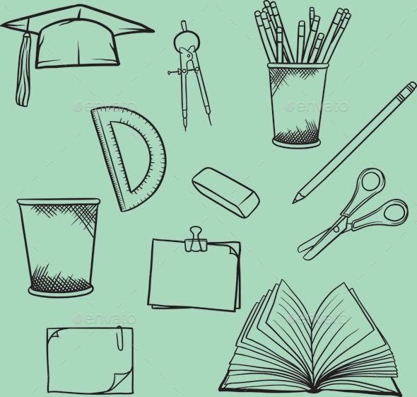 GraphicRiver School Element 10590984