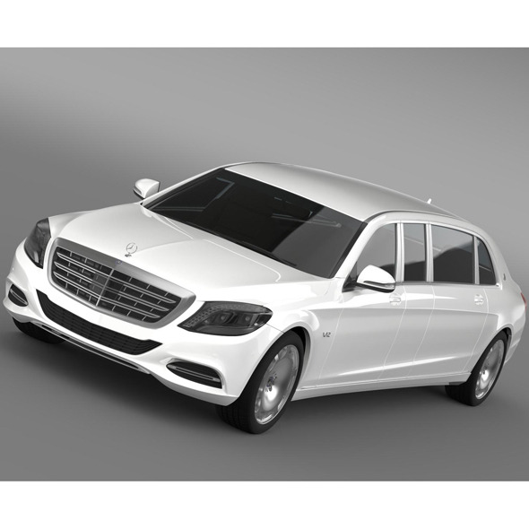 Mercedes Maybach Pullman 2016 - 3DOcean Item for Sale