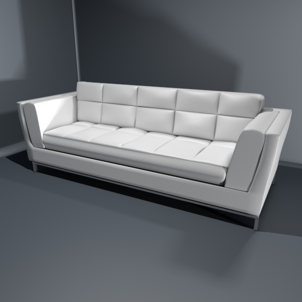 Designer Sofa - 3DOcean Item for Sale