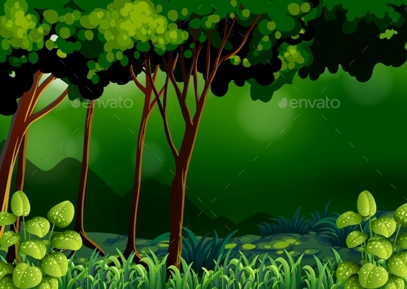 GraphicRiver Green Forest 10591903