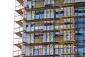 Scaffolding on building site - PhotoDune Item for Sale