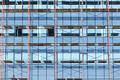 Glass facade of skyscraper under construction - PhotoDune Item for Sale