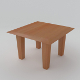 Coffee, side, small table (low poly, uv unwrapped, - 3DOcean Item for Sale