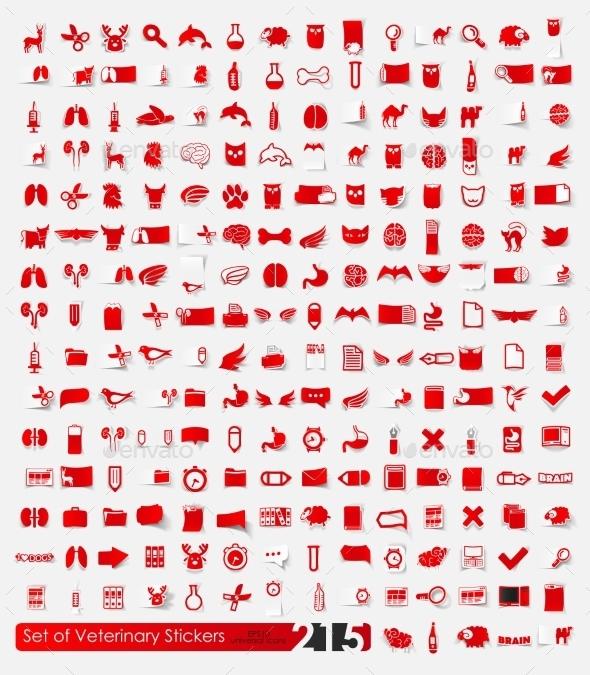GraphicRiver Veterinary Stickers 10592248