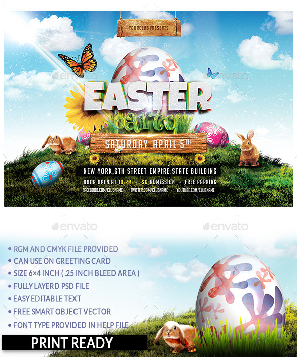 GraphicRiver Easter Party 10592622