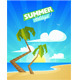 Summer Cartoon Background - GraphicRiver Item for Sale