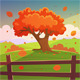 The Autumn Tree - GraphicRiver Item for Sale