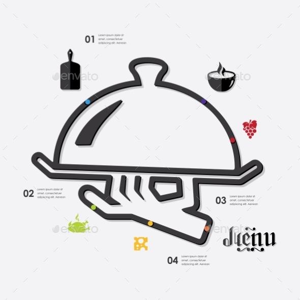 GraphicRiver Restaurant Infographic 10592903