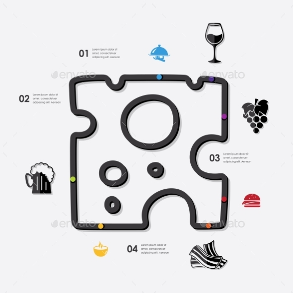 GraphicRiver Restaurant Infographic 10592904