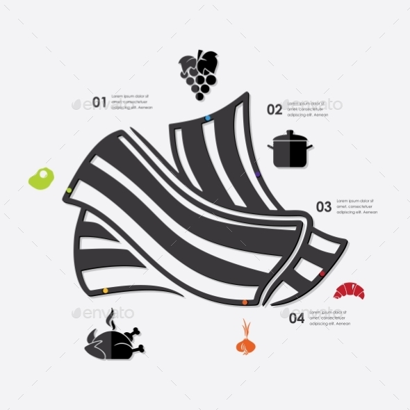 GraphicRiver Restaurant Infographic 10592906