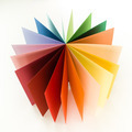 rainbow paper circle fan - PhotoDune Item for Sale
