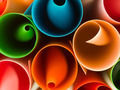 colorful curled paper background - PhotoDune Item for Sale