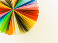 colorful origami circle fan - PhotoDune Item for Sale