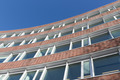 Brick stone facade modern office building in the Netherlands - PhotoDune Item for Sale