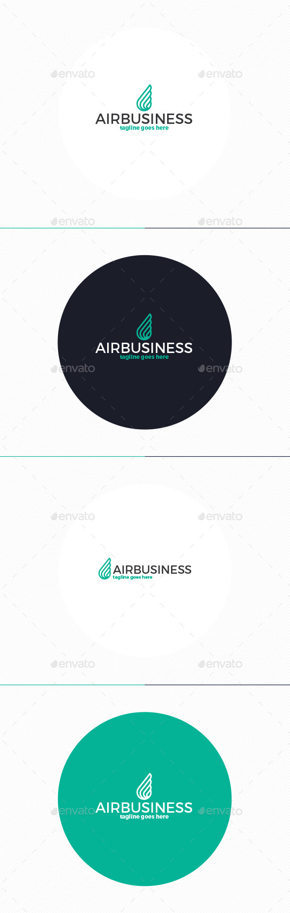 GraphicRiver Air Business Logo 10593913