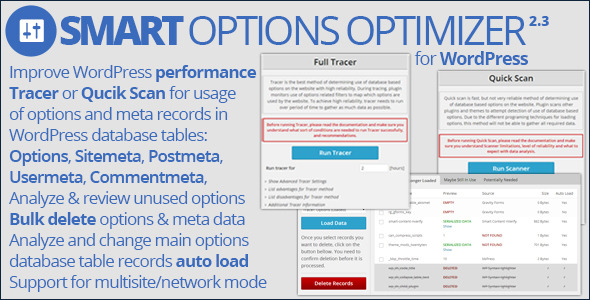 Smart Options Optimizer - CodeCanyon Item for Sale