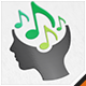 Mind Music Track Logo - GraphicRiver Item for Sale