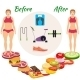 Infographic Weight Loss - GraphicRiver Item for Sale