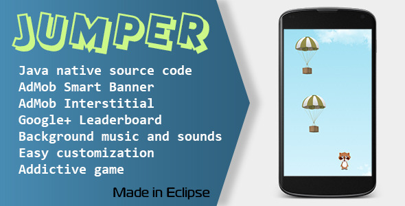 CodeCanyon Jumper Game with AdMob and Leaderboard 10529149