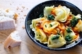 Tortellini with spinach. - PhotoDune Item for Sale