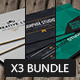 Bundle - Creative Business Cards - GraphicRiver Item for Sale