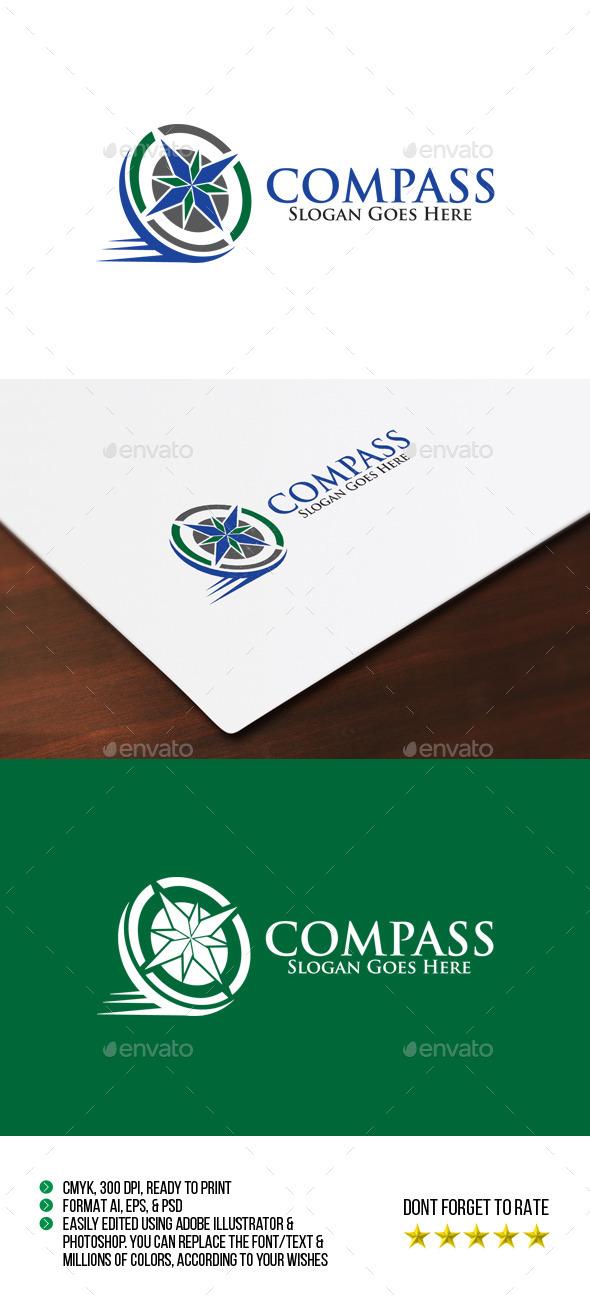GraphicRiver Compass Logo 10595352