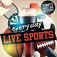 Sports Bar Flyer Template v2 - GraphicRiver Item for Sale