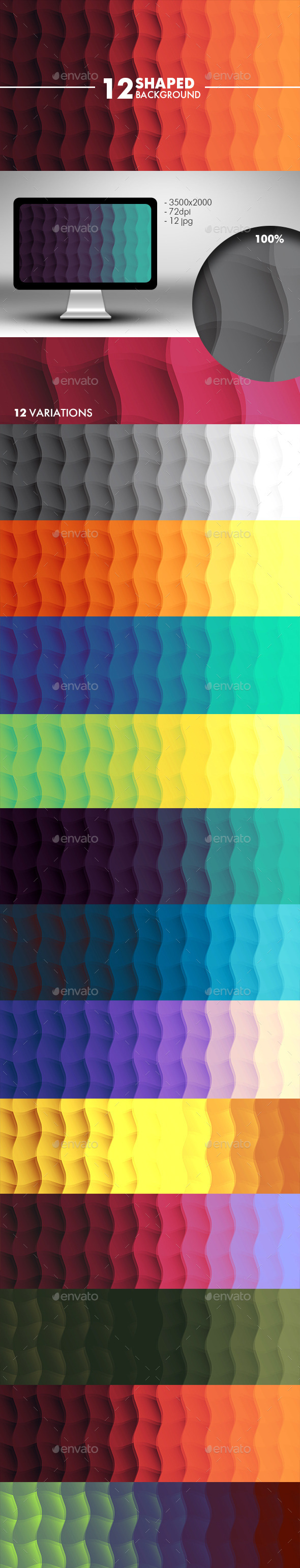 GraphicRiver Wave Background 10595514