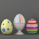 Easter Egg Set and Egg Cup