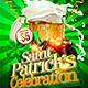 Saint Patrick's Celebration Flyer Template - GraphicRiver Item for Sale