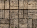 Parquet Style, Wooden Patio with Alternating Woodgrain - PhotoDune Item for Sale