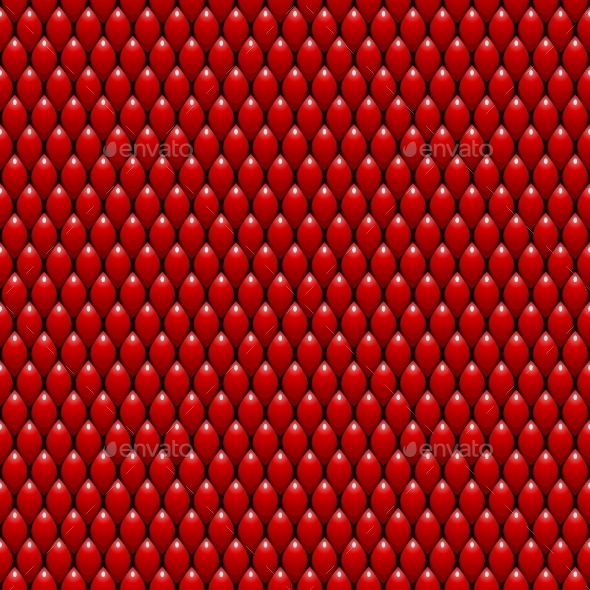 GraphicRiver Red Dragon Scales Seamless Texture 10595904