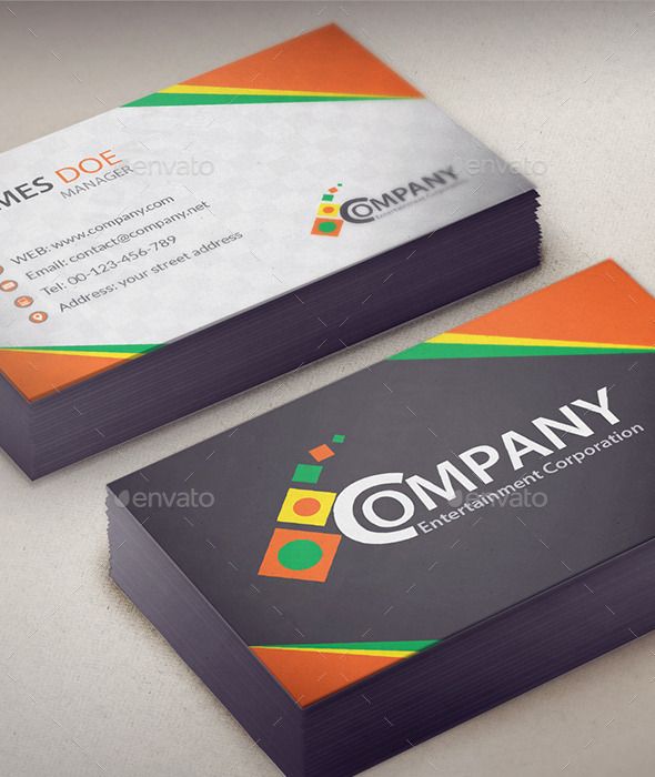 GraphicRiver Corporate Business Card V1 10595966