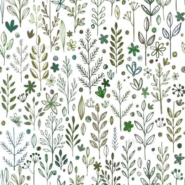 GraphicRiver Seamless Spring Pattern 10596078