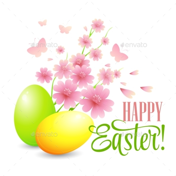 GraphicRiver Easter Card 10596080