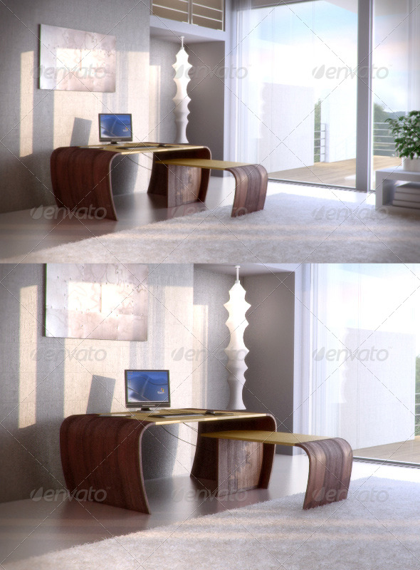 3DOcean Codutti Minos table 87469
