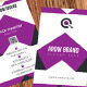AROW BRAND Business Card - GraphicRiver Item for Sale
