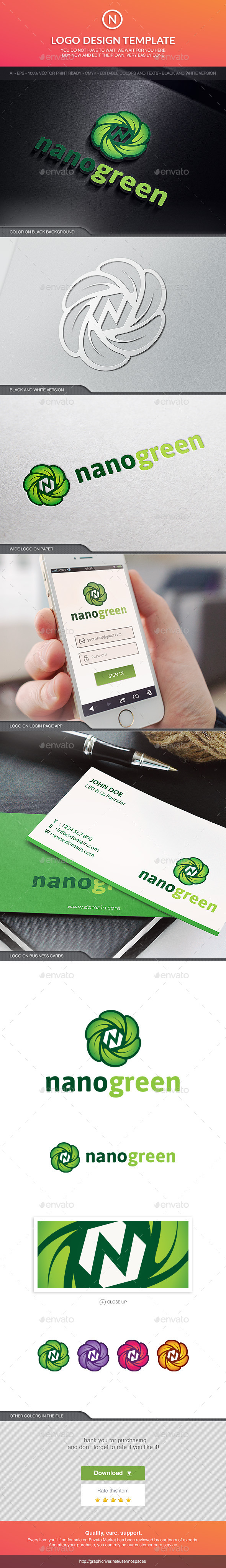 GraphicRiver Nanogreen 10597206