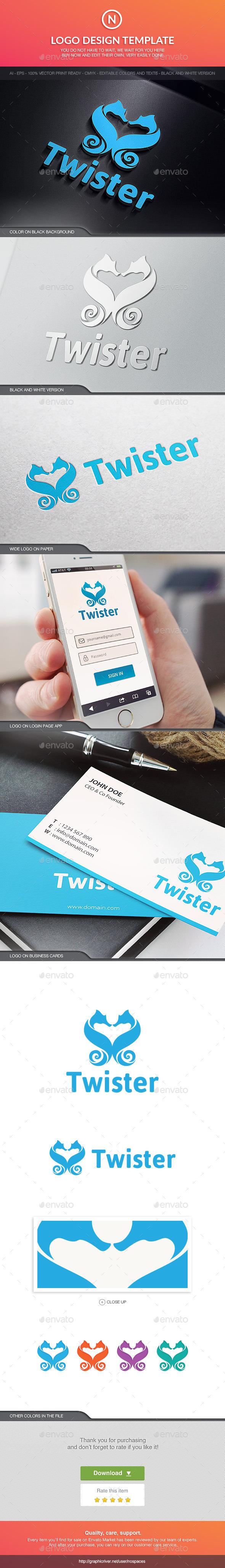 GraphicRiver Twister Seahorse 10597294