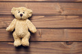 teddy bear on wooden table - PhotoDune Item for Sale