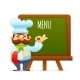 Chef with Menu Board - GraphicRiver Item for Sale
