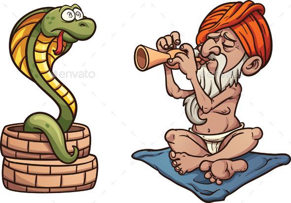 GraphicRiver Snake Charmer 10597798