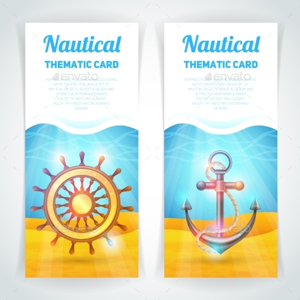 GraphicRiver Marine Banners Set 10597799