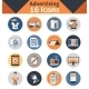 Advertising Icons Set - GraphicRiver Item for Sale