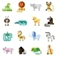 Jungle Animals Set - GraphicRiver Item for Sale