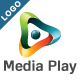 Media Play Logo - GraphicRiver Item for Sale